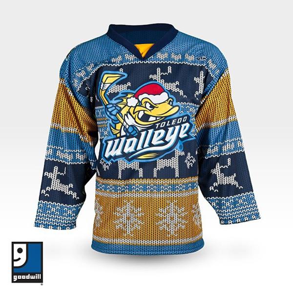 Toledo Walleye (Ugly Christmas Sweaters)