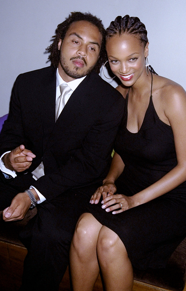 With Hype Williams at a party for Vibe magazine  ::  Richard Corkery/NY Daily News/Getty Images