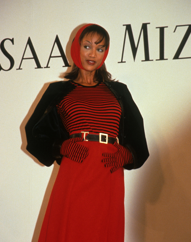 Walking for Isaac Mizrahi, 1994  ::  Rose Hartman/WireImage