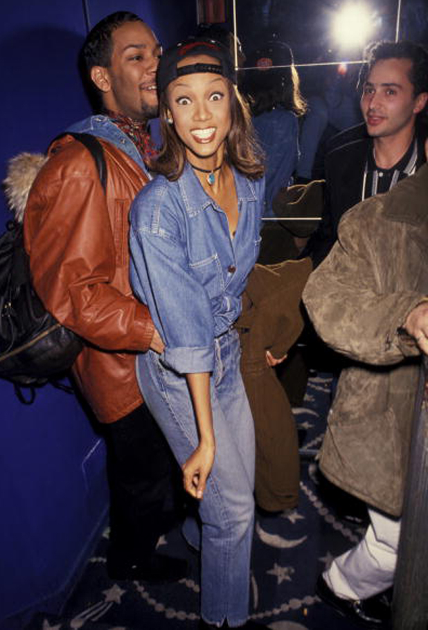 At an Absolut Vodka party, 1993  ::  Ron Galella/WireImage