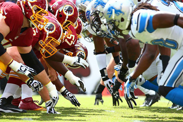 Redskins vs. Lions :: Simon Bruty/SI