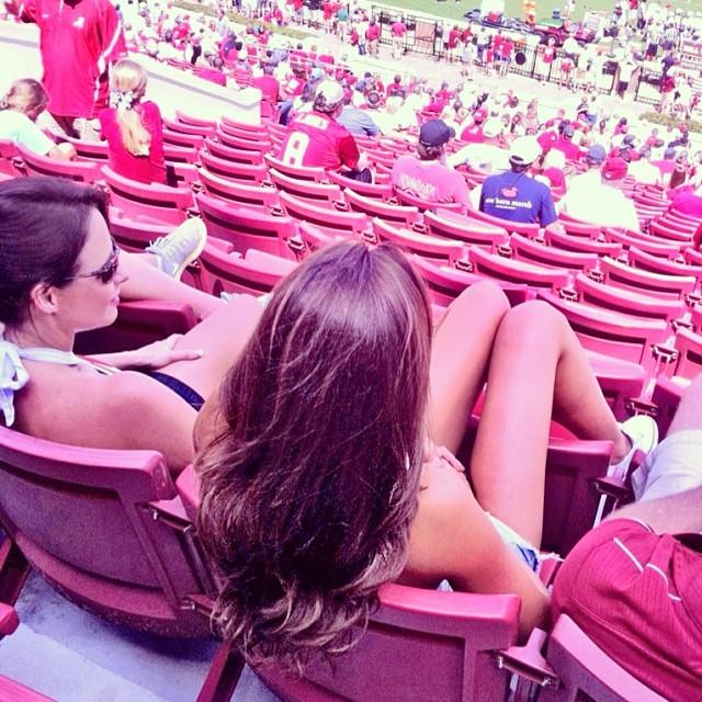 @_katherinewebb: Already having football withdrawals Gonna miss being at Bama!