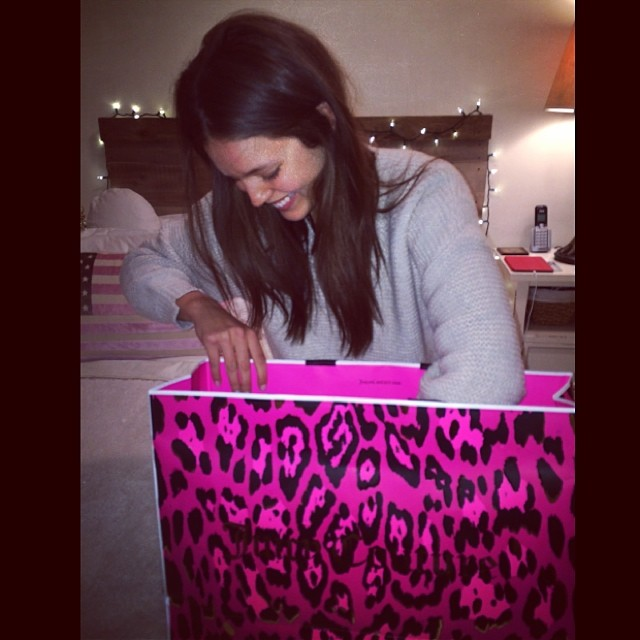 @emilydidonato1: @juicycouture you know how to spoil a girl. Thanks for the goodies!