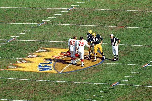 Super Bowl I, Jan. 15, 1967 :: Neil Leifer/SI