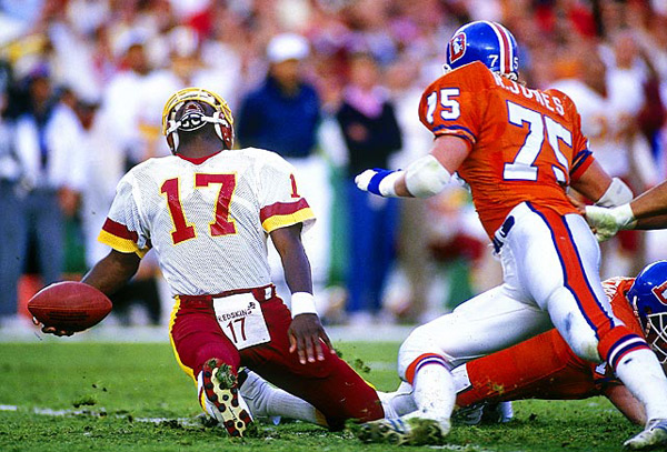 Doug Williams (Super Bowl XXII, Jan. 31, 1988) :: John Biever/SI