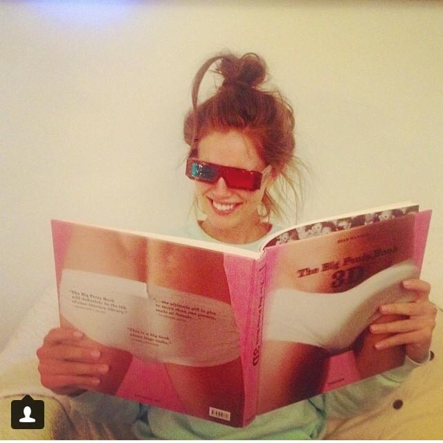 @emilydidonato1: Bed time reading with @adrianna_bach @traviskipp @abischwinck