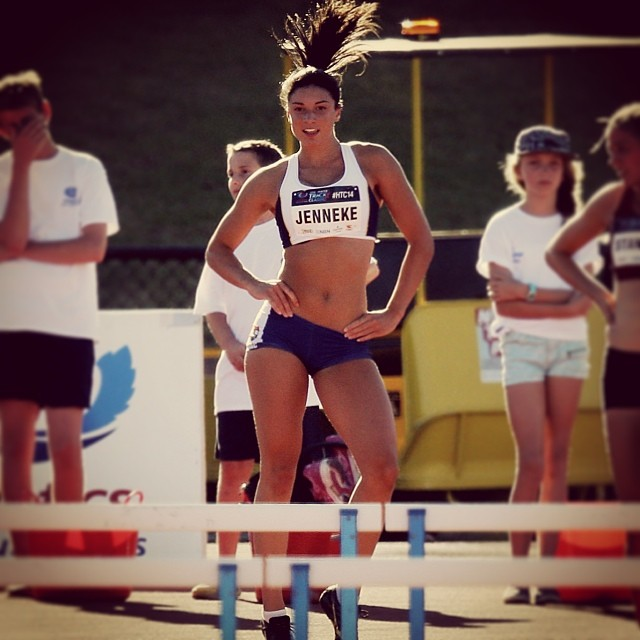@mjenneke93: Hunter Track Classic warm up #htc14 #dance #gameface