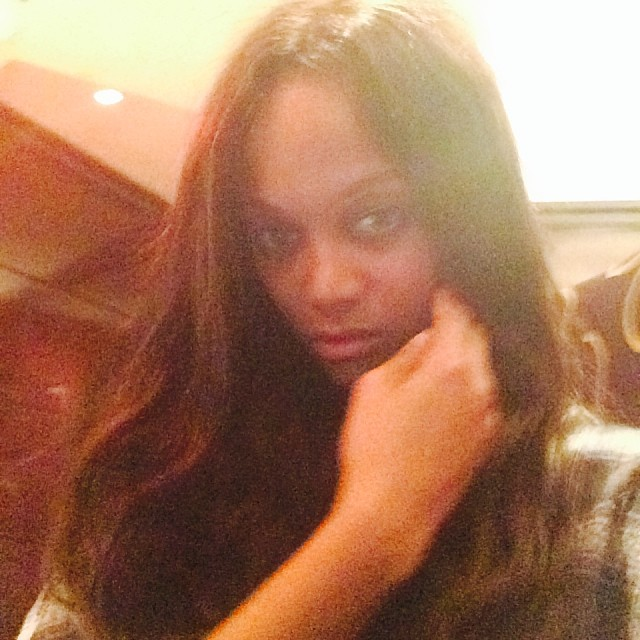 @tyrabanks: 2014 is in our face. Take four selfies of yourself that signify ignoring the haters. Here's (3 of 4 of) mine.