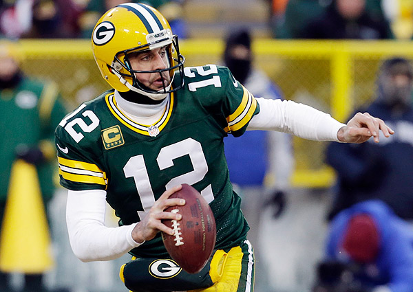 Aaron Rodgers Turned A Sure Sack Into Much Needed Completion