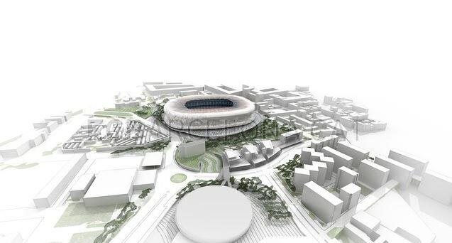 Proposed new Camp Nou (image courtesy of FC Barcelona)
