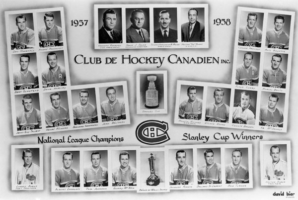 Montreal Canadiens (1957-58) :: Getty Images