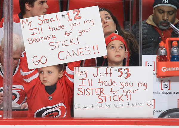 Nashville Predaors v Carolina Hurricanes :: Gregg Forwerck/NHLI via Getty Images