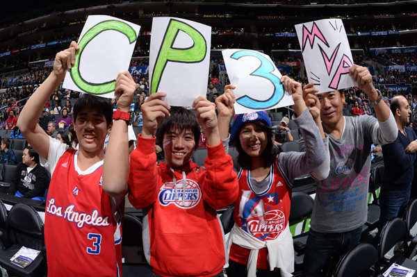 Charlotte Bobcats v Los Angeles Clippers :: Andrew D. Bernstein/NBAE via Getty Images