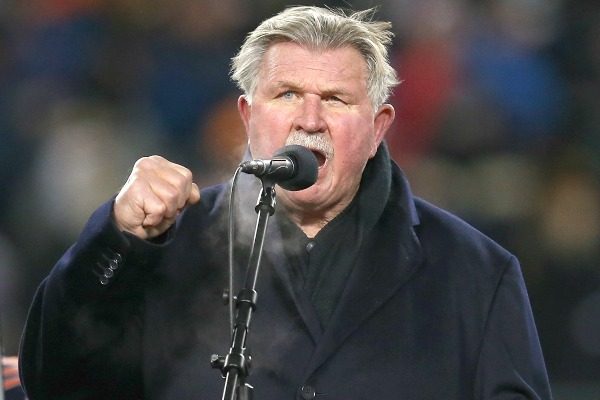 mike ditka farts on tv