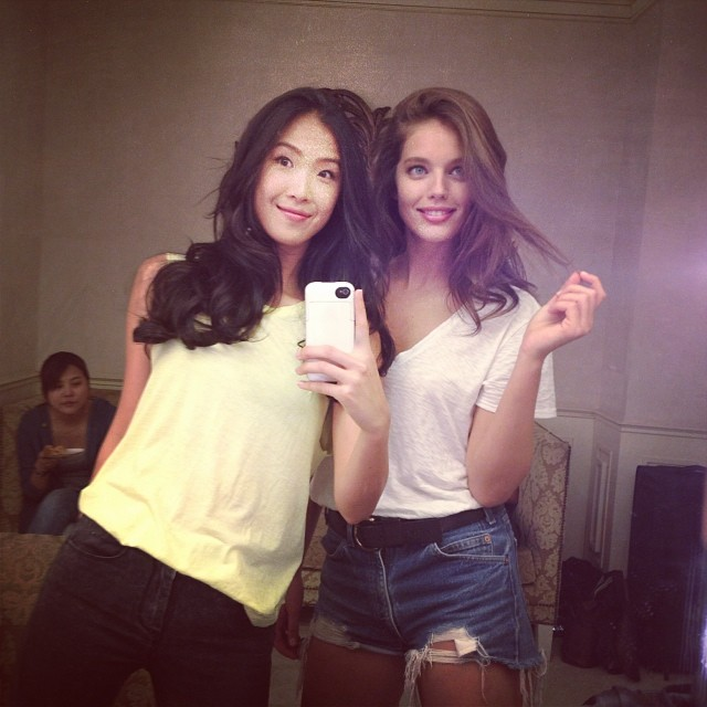@emilydidonato1: That's a wrap today in #Bangkok with @shuaiyu @maybelline @maybellinenewyork