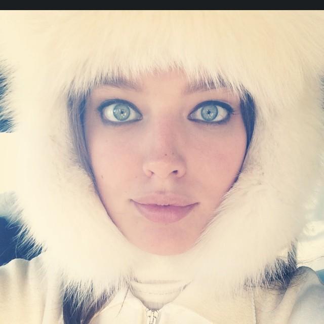 @emilydidonato1: A proper ski bunny today with @vogueaustralia