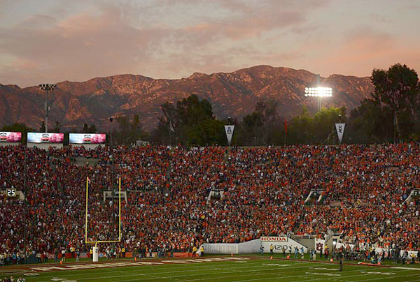 Rose Bowl :: Donald Miralle/SI