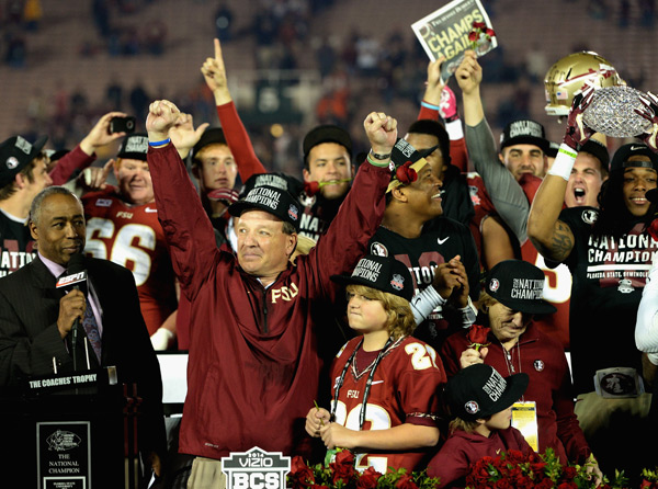 Jimbo Fisher :: Getty Images