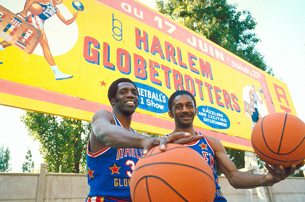 Meadowlark Lemon and Goose Tatum :: Heinz Kluetmeier/SI