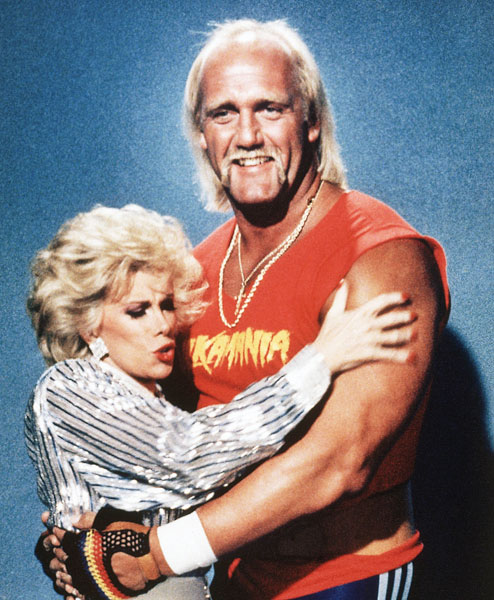 Hulk Hogan and Joan Rivers :: AP
