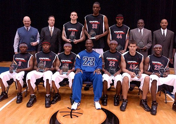 Michael Jordan All-Stars (2003) :: Getty Images