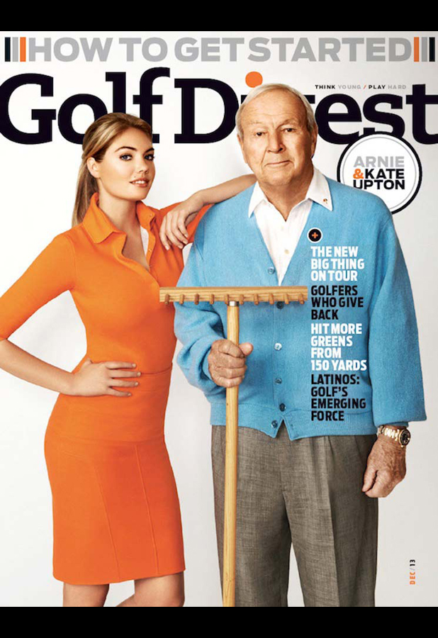 Golf Digest (US), December 2013