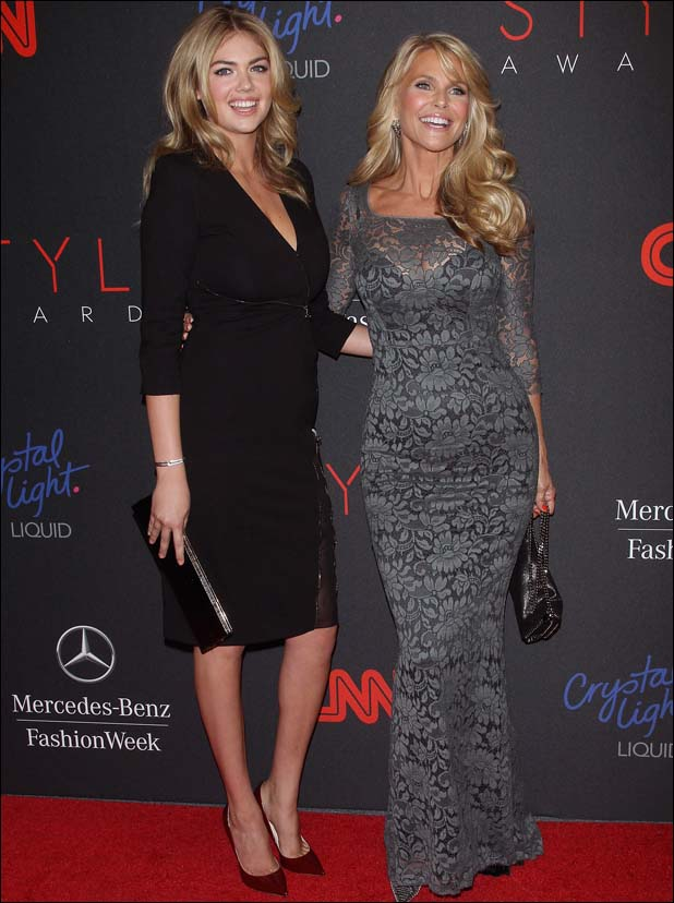 With Christie Brinkley  ::  WireImage