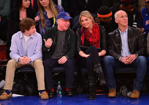 Kate Upton and Paul Simon :: James Devaney/WireImage