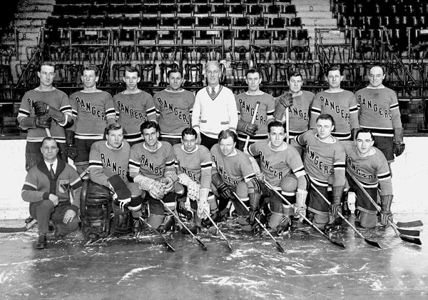 New York Rangers (1931-32) :: Getty Images
