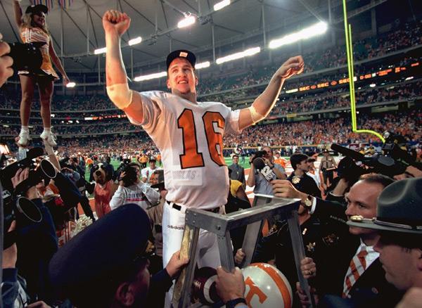 Peyton Manning :: Bob Rosato/SI