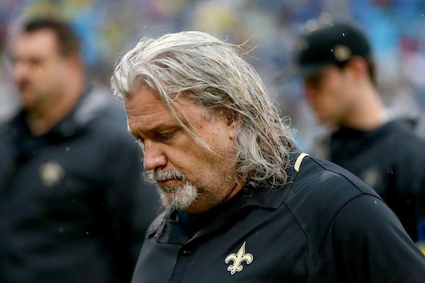 Sad, rainy Rob Ryan :: Getty Images