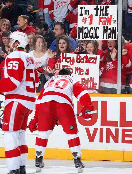 Detriot Red Wings v Nashville Predators ::  John Russell/NHLI via Getty Images