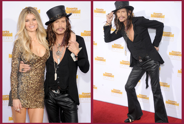 Marisa Miller and Steven Tyler :: WireImage (2)
