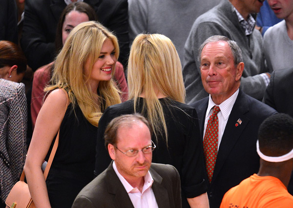 Kate Upton and Michael Bloomberg :: James Devaney/WireImage