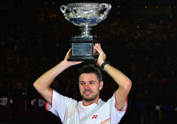 Winner winner chicken dinner. (AFP/Getty Images)