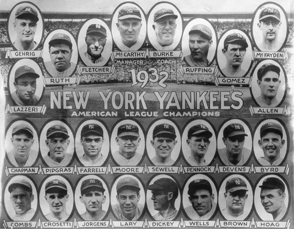 New York Yankees (1932) :: Getty Images