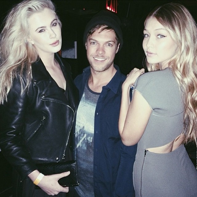 @gigihadid: Attended the @PrabalGurung party last night with my NY Fashion Week partners in crime: my super-babe @irelandbbaldwin and our super-agent @emersonbarth emoji @imgmodels