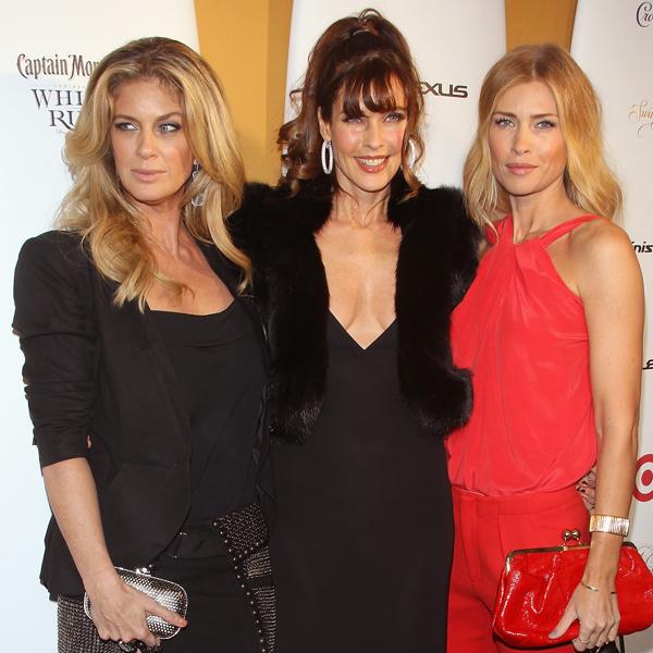 Rachel Hunter, Carol Alt and Daniela Pestova :: Getty Images