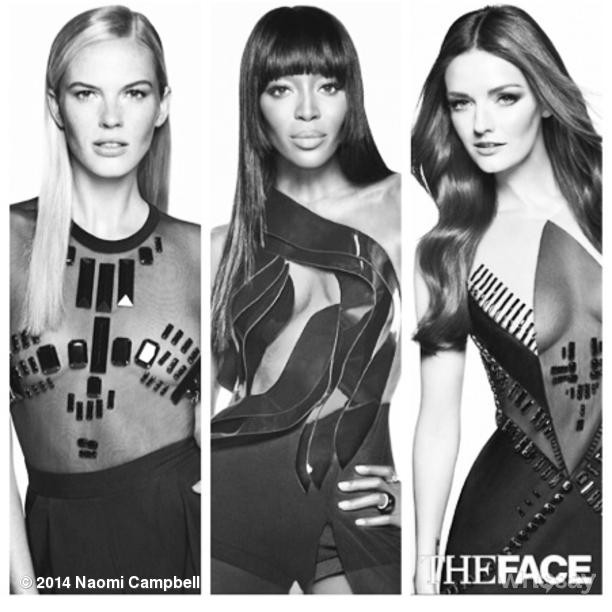 @iamnaomicampbell: #Facemaker @Thefaceonoxygen hangout with me for a day http://www.whosay.com/l/vOQ7Ts9