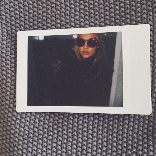 @gigihadid: the gucci chronicles