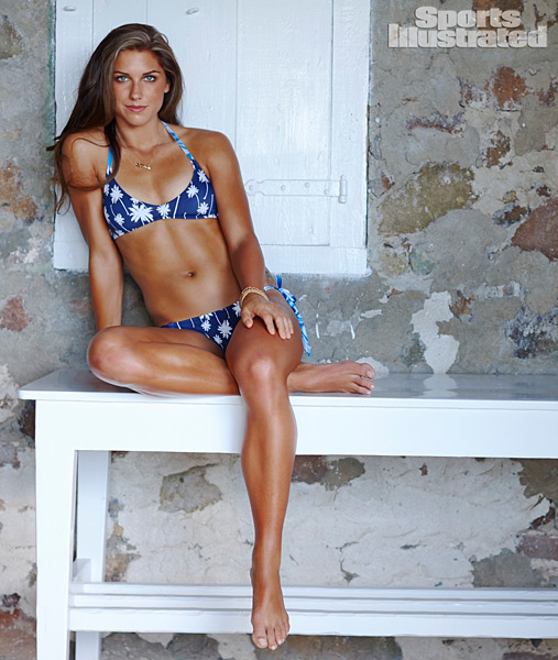 Alex Morgan :: Adam Franzino/SI