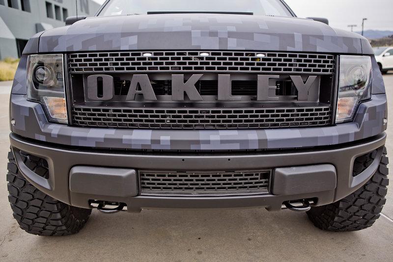 oakley custom  oakley built bubba watson a custom bulletproof truck