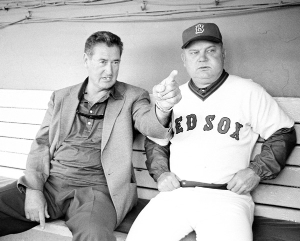 Don Zimmer and Ted Williams (1978) :: AP