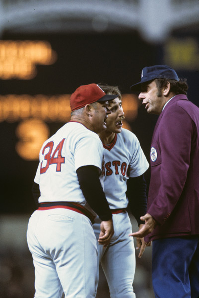 Don Zimmer and Rick Burleson (1976) :: Neil Leifer/SI
