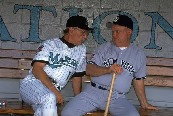 Jim Leyland and Don Zimmer (1997) :: Bob Rosato/SI