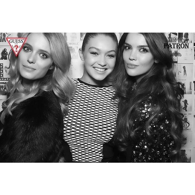 @katelynnebock: Guess girls at a @Guess Event @gigihadid @tashy_tashb xoxox