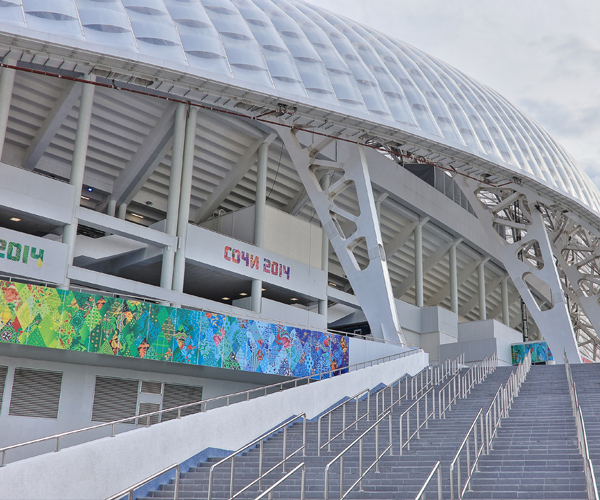 Fisht Stadium (Courtesy Sochi 2014)