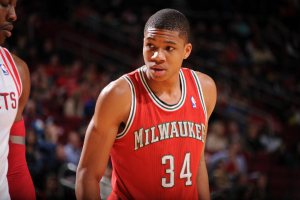 Giannis Antetokounmpo -- Rising Stars (Jesse D. Garrabrant/NBAE/Getty Images)
