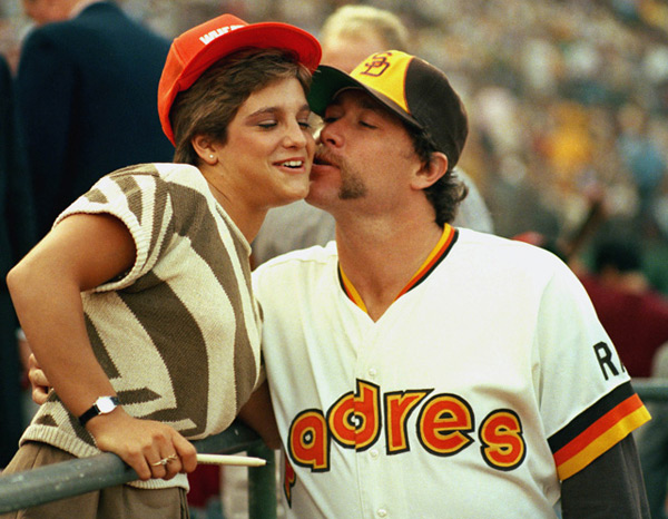 Mary Lou Retton and Goose Gossage :: AP