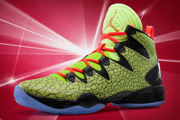 "The 2014 All-Star Game version of the ""XX8 SE"" sneakers. (Jordan)"